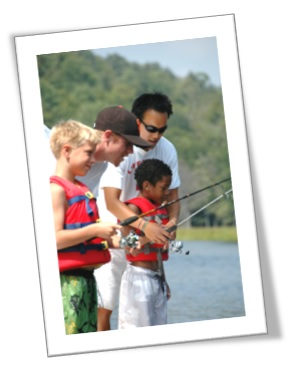Cedar Brook Day Camp fishing