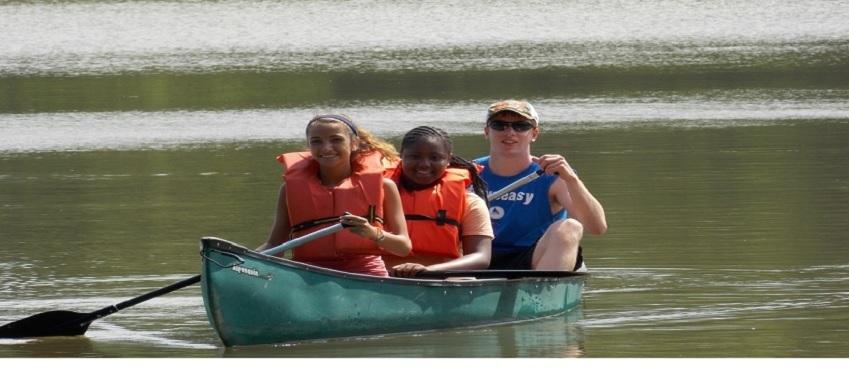 Cedar Brook Day Camp canoe