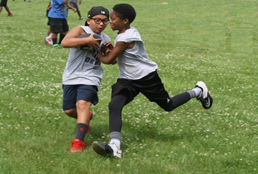 Cedar Brook Day Camp football
