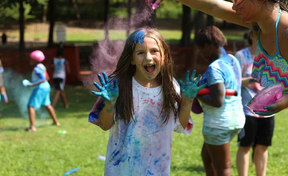 Cedar Brook Day Camp color wars