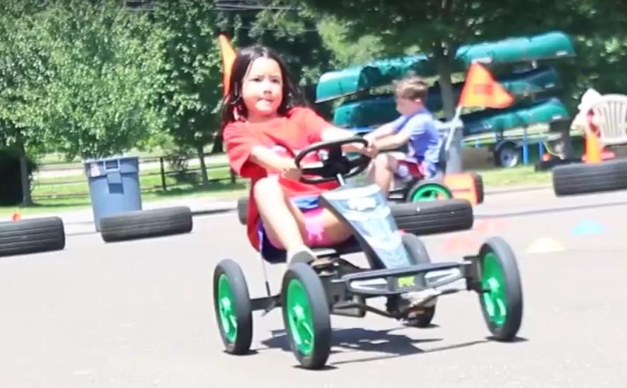 Cedarbrook Day Camp Pedal Carts 1