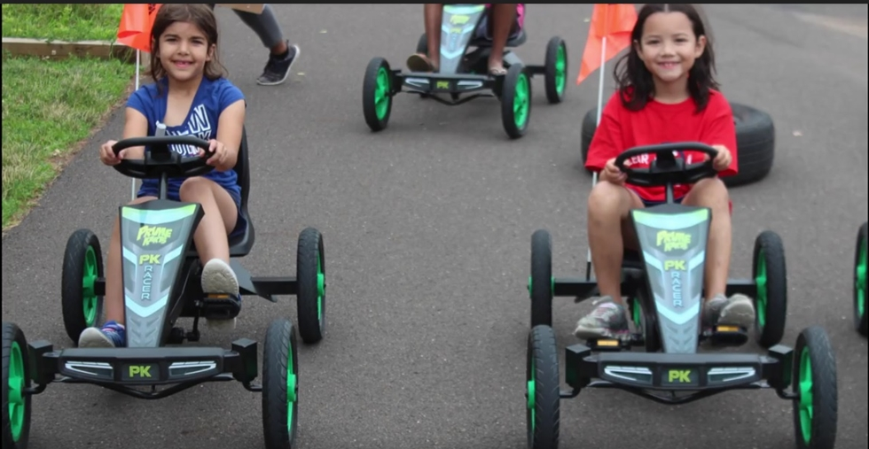 Cedarbrook Day Camp Pedal Carts 2