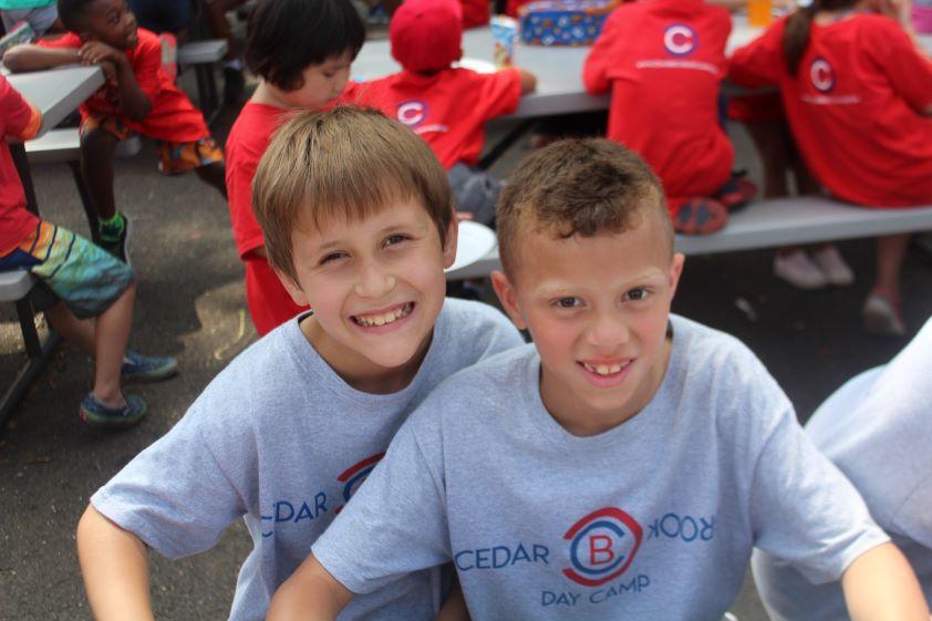 Boys Smiling Cedarbrook Day Camp